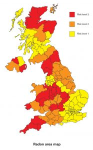 UK Radon map
